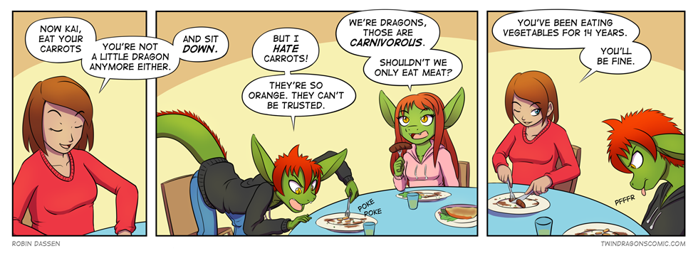 Twin Dragons page 11 by Robin Dassen