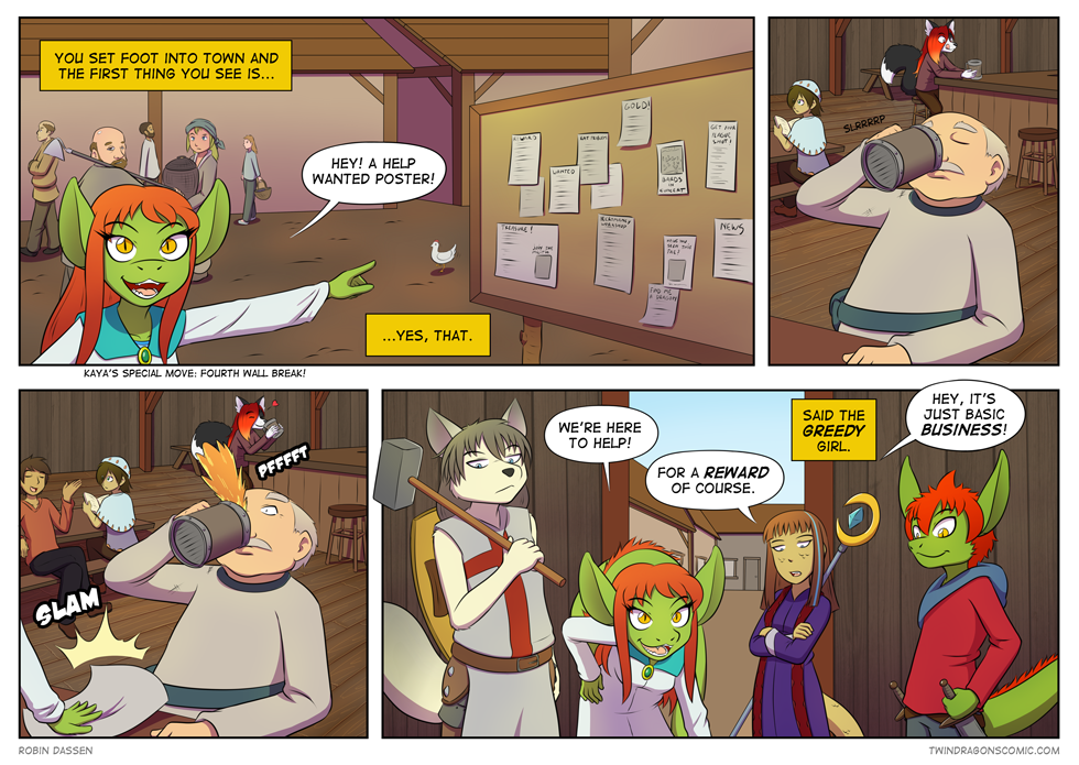 Twin Dragons comic page 129 by Robin Dassen