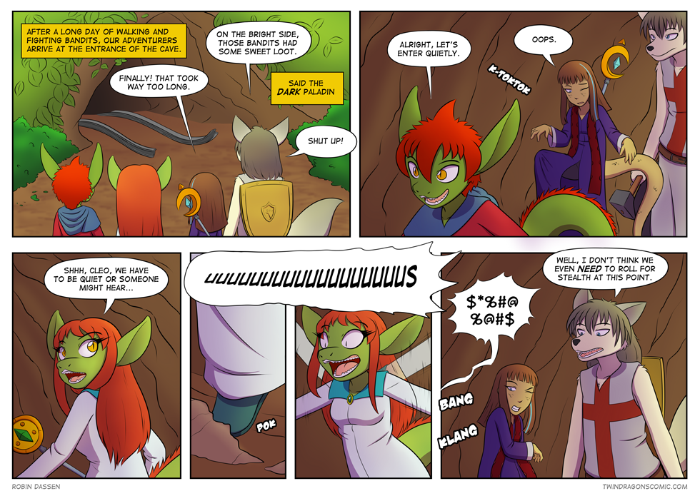 Twin Dragons comic page 134 by Robin Dassen