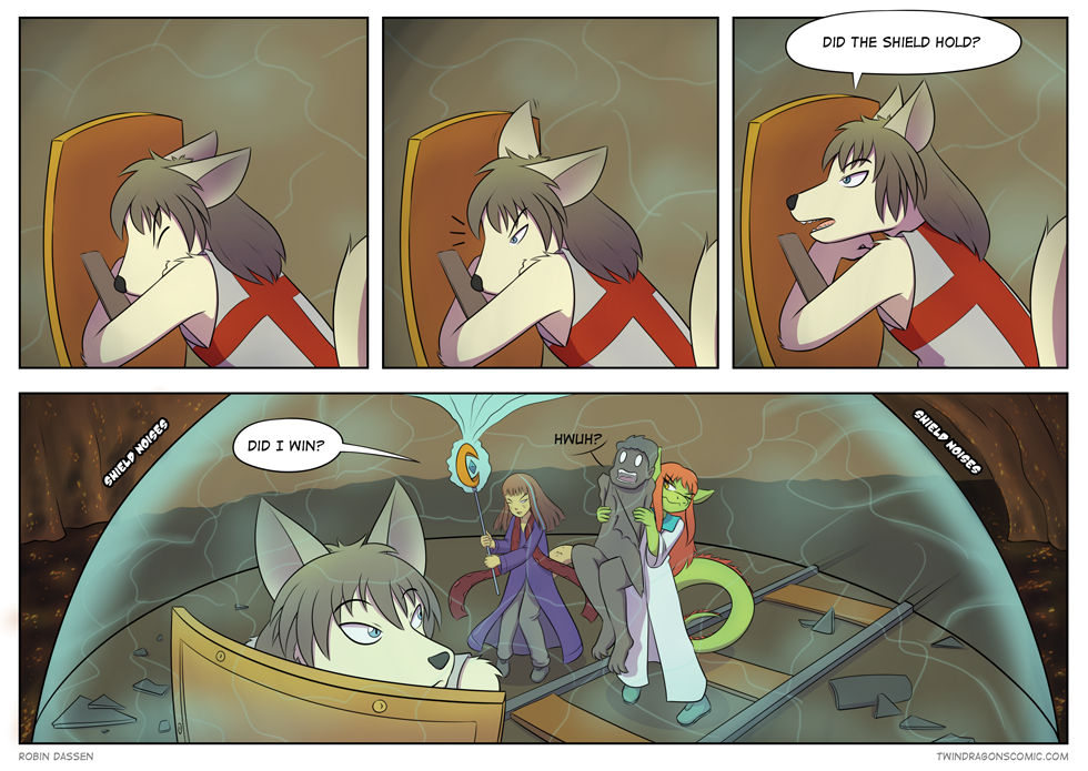 Twin Dragons comic page 139 by Robin Dassen
