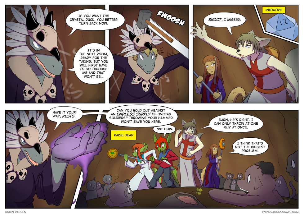 Twin Dragons comic page 144 by Robin Dassen