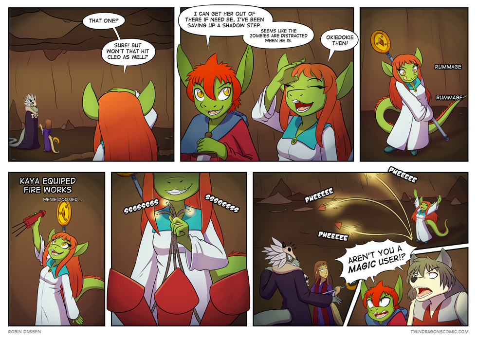 Twin Dragons comic page 146 by Robin Dassen