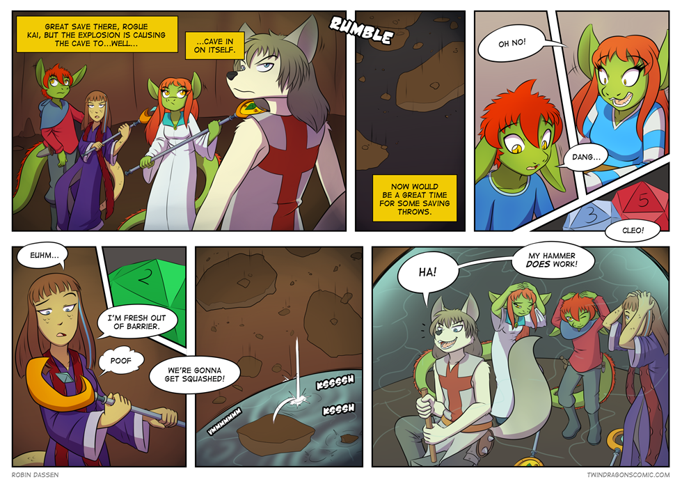 Twin Dragons comic page 148 by Robin Dassen