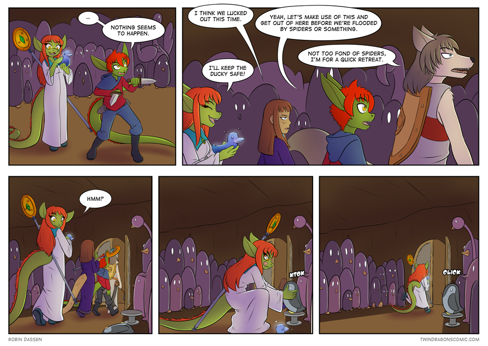 Twin Dragons comic page 151 by Robin Dassen