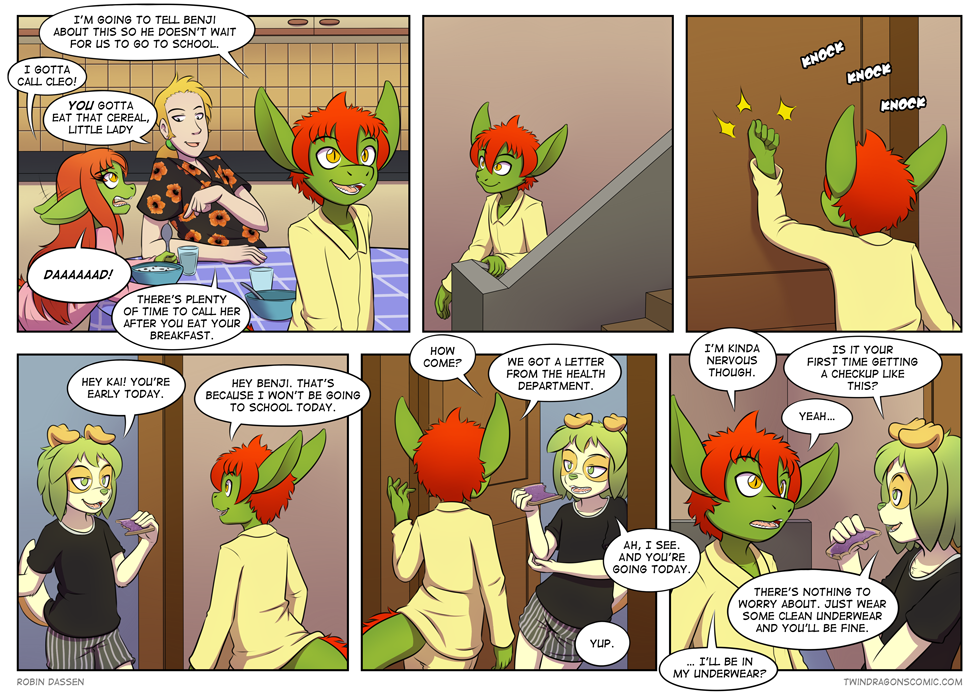 Twin Dragons comic page 200 by Robin Dassen