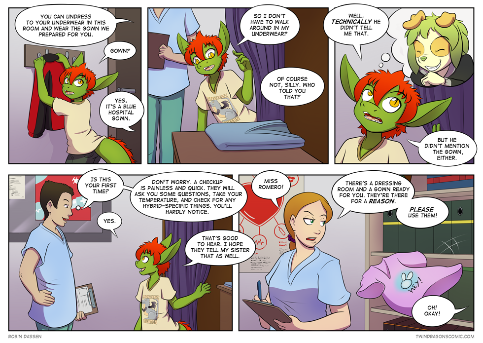 Twin Dragons comic page 205 corrected by Robin Dassen