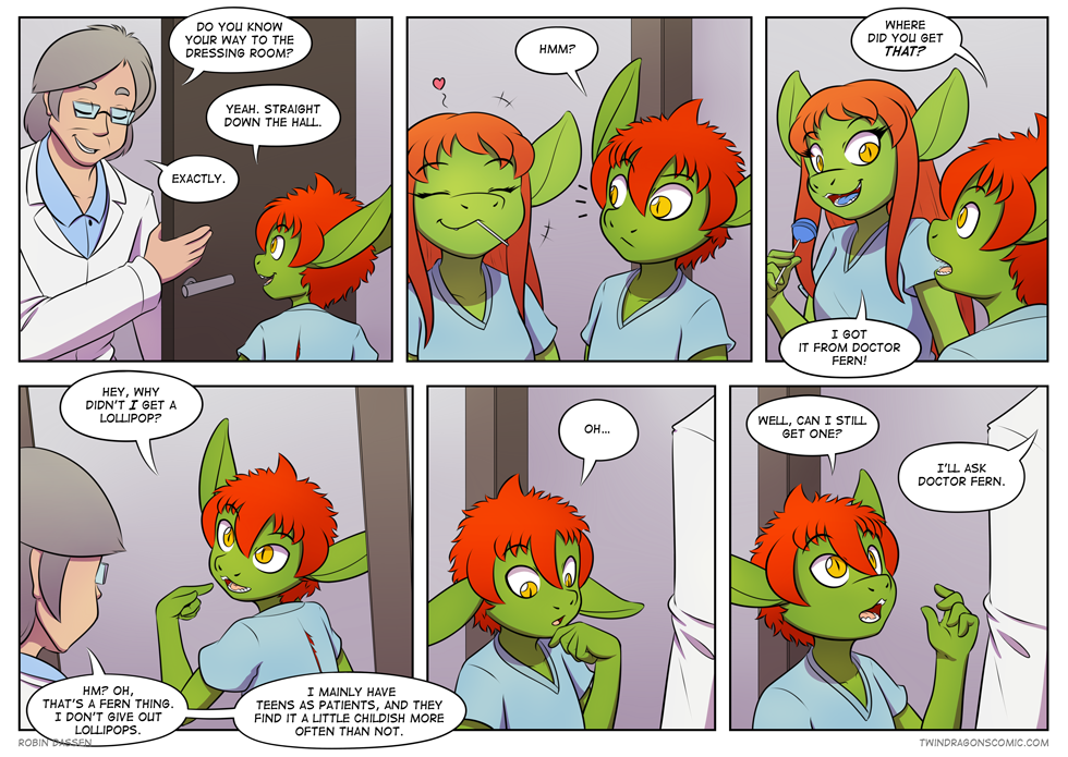 fourth panel: Why is there no candy in my mouth?