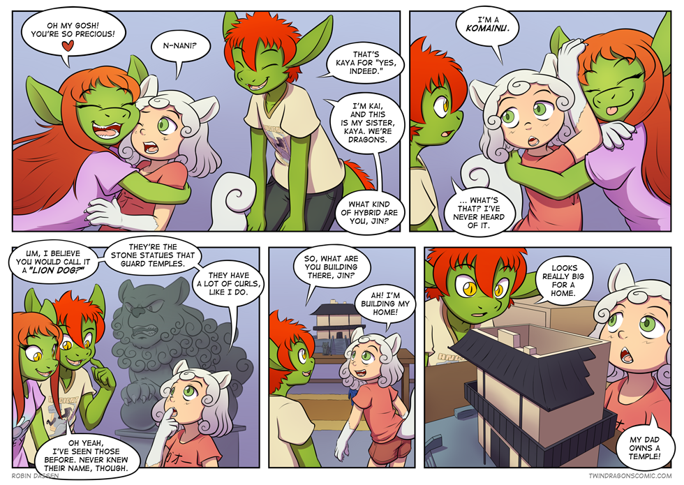 Twin Dragons comic page 248 by Robin Dassen