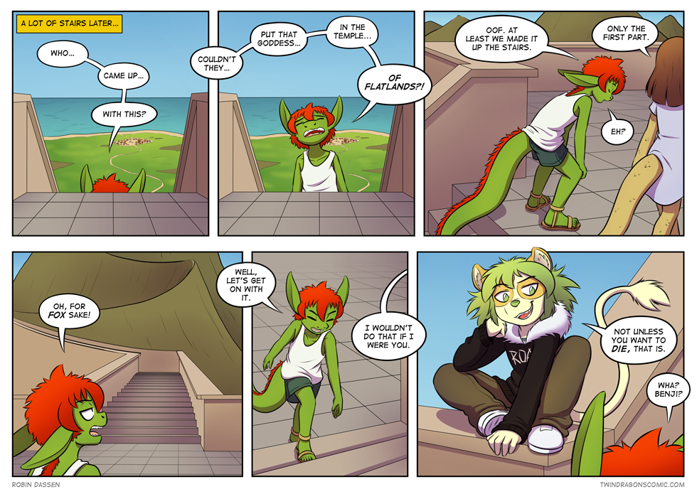 Twin Dragons comic page 265 by Robin Dassen