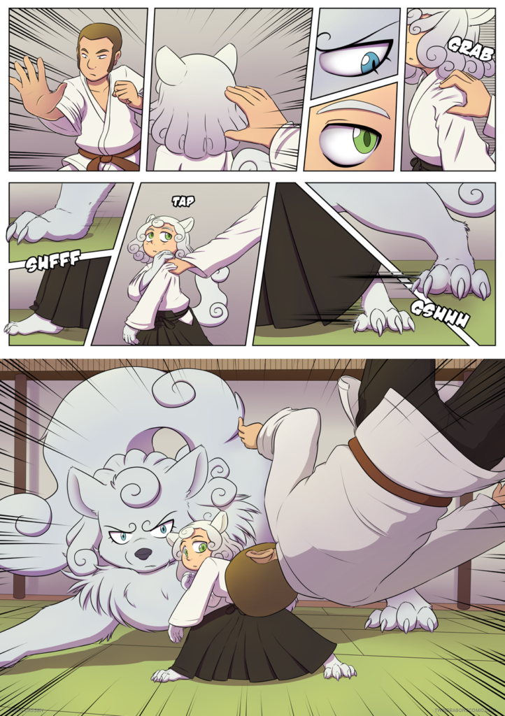 Twin Dragons comic page 299-300 by Robin Dassen