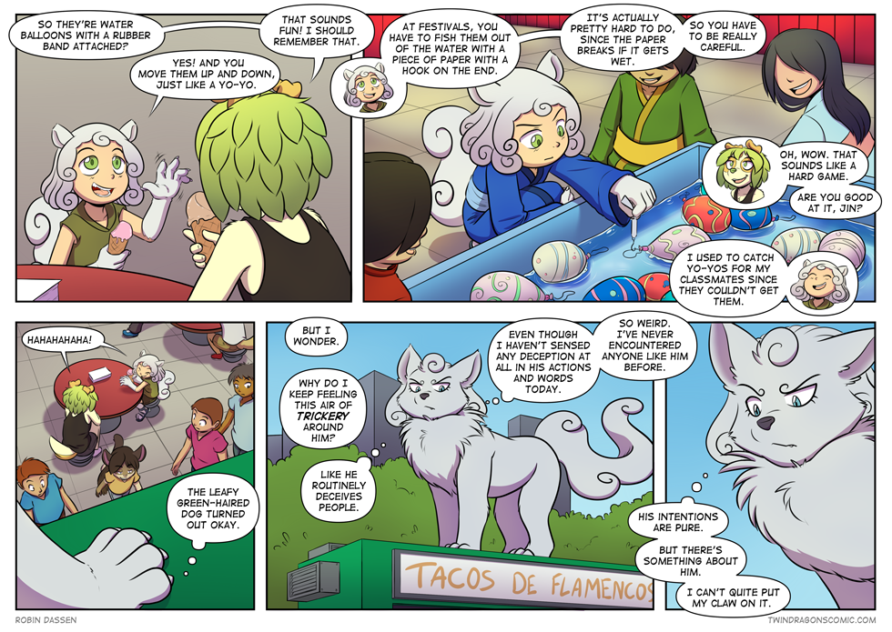Twin Dragons comic page 325 by Robin Dassen